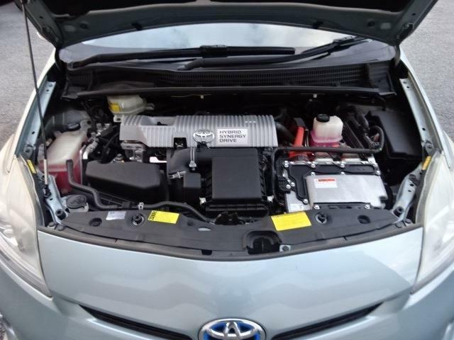 ■エンジンルーム■ 本車両は走行距離管理システムで管理されております。