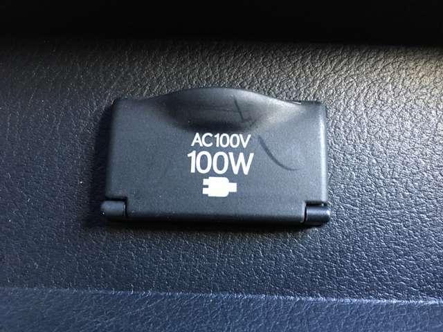 純正AC100V電源(オプション)