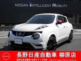 日産 ジューク 1.6 NISMO 4WD ニスモスポーツシート専用18インチアルミ