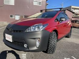 トヨタ プリウス 1.8 S 3インチリフトアップ MTタイヤ フルセグ