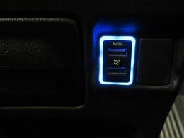 USBソケットもついてるので、オーディオソースの幅も広がります。