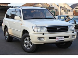 トヨタ ランドクルーザー100 4.7 VXリミテッド Gセレクション 4WD サンルーフ レザーシート シートヒーター