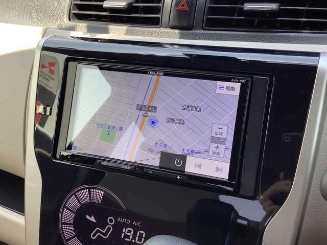 社外ナビ搭載!操作性もよく知らない所でのドライブも困りません!
