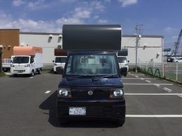 日産 クリッパートラック 660 SDエアコン付 4WD 厨房器具付きキッチンカー