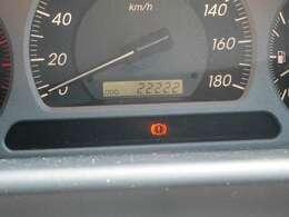 実走行22,222kmです。まだまだ走ってくれます。