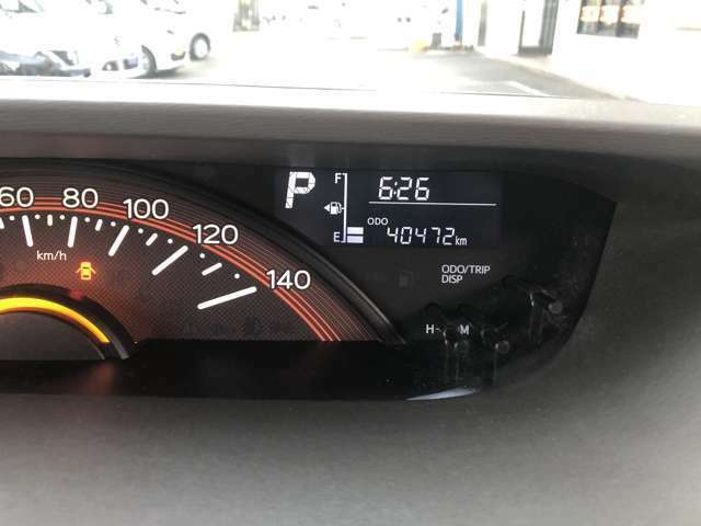 走行距離40472kmです。