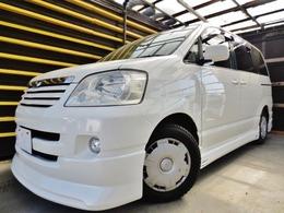トヨタ ノア 2.0 X Vセレクション 特別限定フルエアロ黒本革電動ドア仕様車