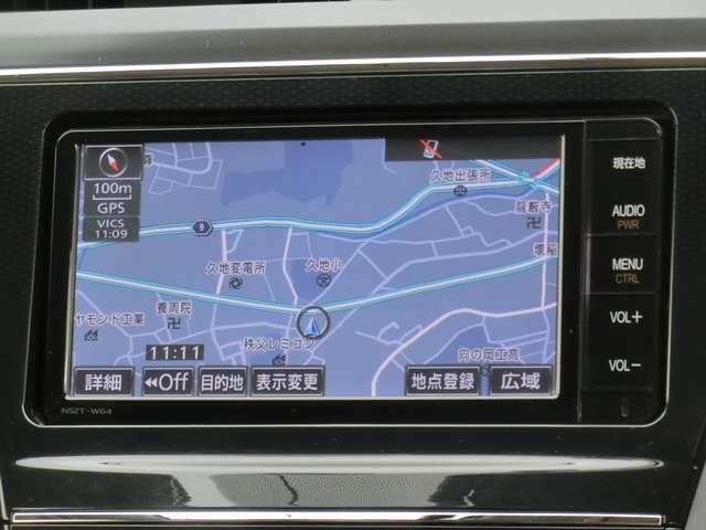 メモリーナビ<NSZT-W64>(フルセグTV/CD/DVD/SD/Bluetooth/録音機能)!