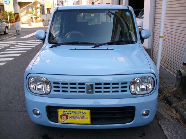 まだまだキレイで人気のラパン!車検整備付きで安心の支払総額表示車です!