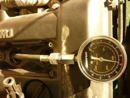 エンジン暖機後の2番圧縮です。先ずはお電話・ご来店下さい!!06-6863-2686