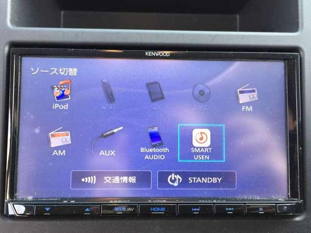 【社外ナビ(MDV-D206BT)】CD/Bluetooth/USB/AUX