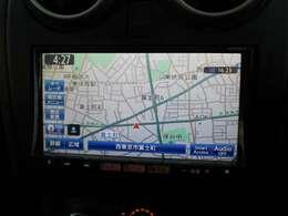 純正ディーラーオプション大画面メモリーナビ☆DVD再生はもちろん、Bluetoothオーディオにも対応しております♪♪
