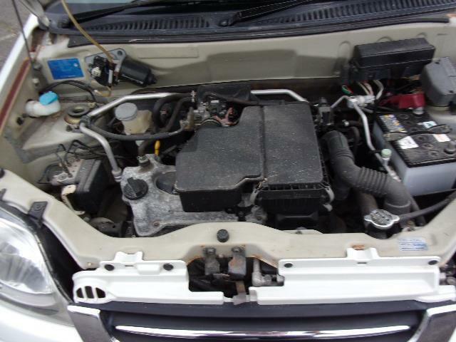 タイミングチェーン式エンジンです。