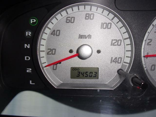走行 34,500 kmです。