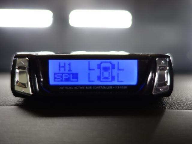 新品ワイヤレス エアサスコントローラー☆ 5個の車高のメモリーを設定できます☆ ボタン一つで車高の上げ下げができます☆ 2級整備士常駐です☆  お好みの追加カスタムも承ります☆ お気軽にご相談下さい☆