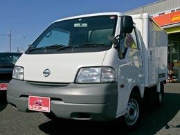 日産 バネットトラック 冷蔵冷凍車 ナビTV -7℃設定表示 分割荷室 低床 5MT