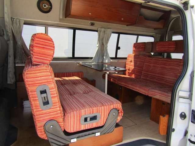 もちろん対面座席として使用可能です!広々したダイネットです♪