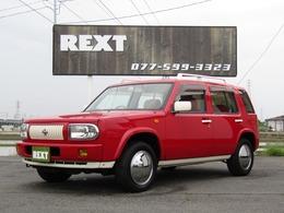 日産 ラシーン 1.5 タイプL 4WD 赤革調シート 赤パネル ETC CD