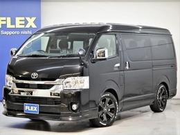 トヨタ ハイエース 2.7 GL ロング ミドルルーフ 4WD FLEX アレンジAS BIG-Xナビ