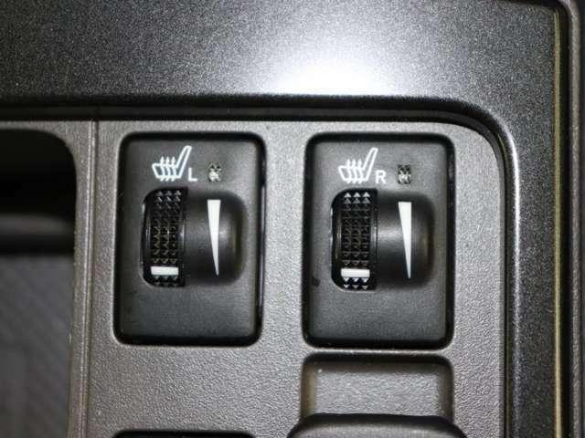 シ-トヒ-タを装備しています。冬場の冷たいシ-トを温かく温めてくれる便利な装置です。