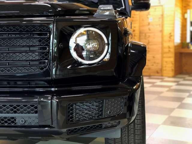 ブラックスモーク仕様ウインカーライト マルチビームLEDヘッドライト