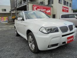 BMW X3 2.5si MスポーツパッケージI (スポーツ・サスペンション) 4WD ナビ ETC