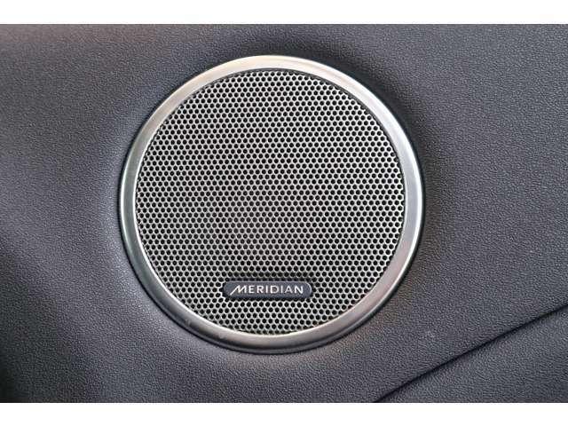 MERIDIANサウンドシステム 英国の音響ブランドで快適なドライブを楽しめます。