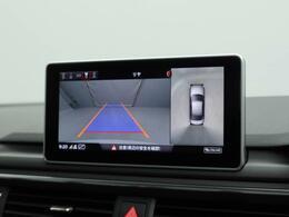 サラウンドビューカメラ   4台の広角サラウンドビューカメラが車両の全周囲360°を瞬間的に捉え様々な角度からの映像を映し出すことで駐車時の操作がより簡単になります。