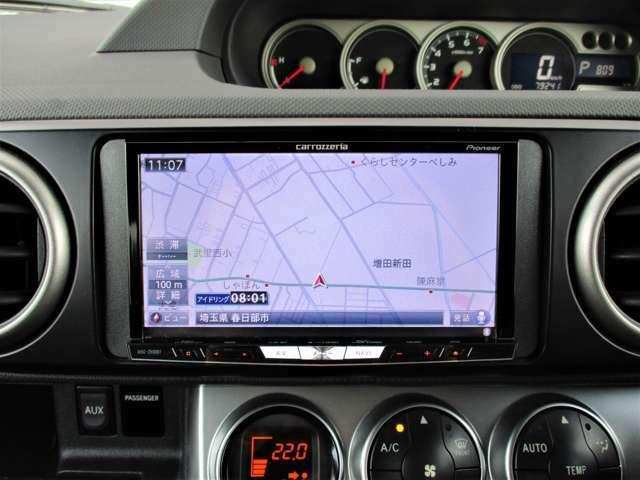 社外HDDナビTV☆フルセグ視聴、Bluetoothオーディオ、CD・DVD再生、ミュージックサーバー♪