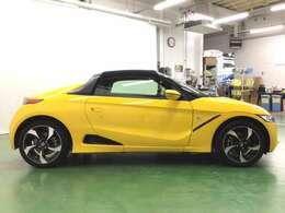 Hondaの軽本格スポーツカーS660はコンパクトでありながら、スポーティーな走りが楽しめます。