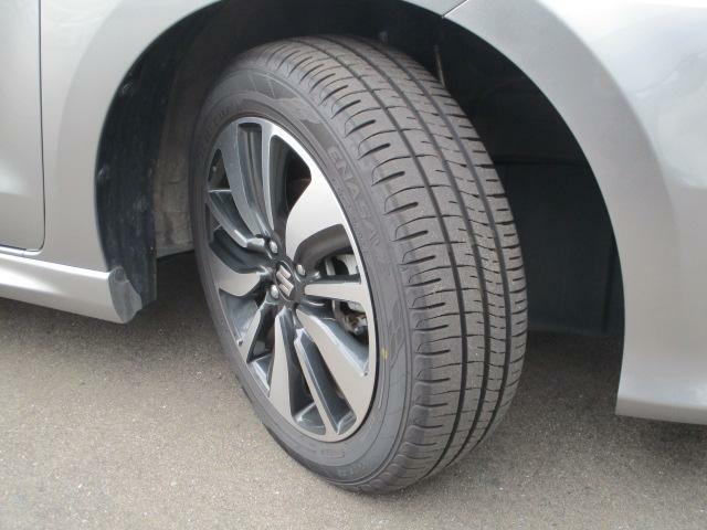 切削加工とブラック塗装を施した純正アルミホイール★【175/65R15】タイヤの溝も、まだまだ!くわしくはスタッフへ。