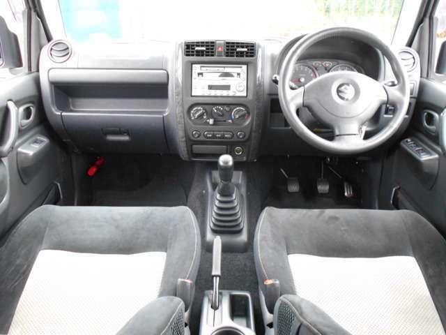 運転席、ダッシュボード周りも丁寧に扱われており綺麗な状態です。