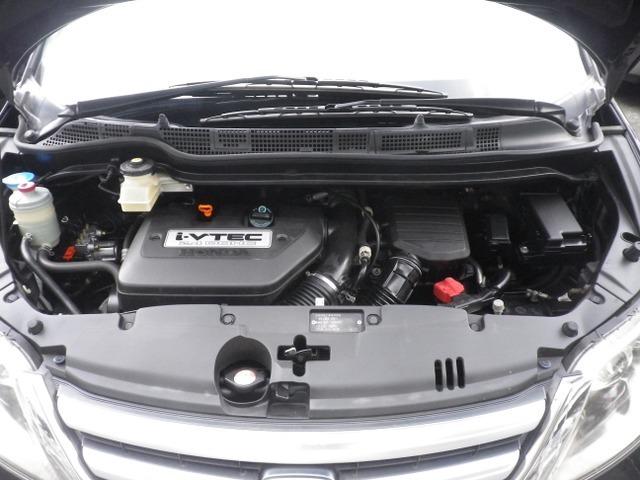 2.4リッタータイミングチェーン式エンジン。