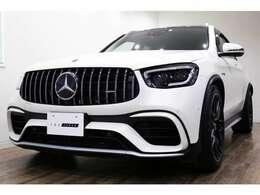 正規ディーラー車 Merceds-AMG GLC63S 右ハンドル ダイヤモンドホワイト(マットプロテクションフィルム施工済)/レッドペッパー×ブラックナッパレザー