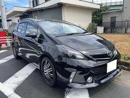 トヨタ プリウスα 1.8 S Lセレクション 車検2年 ETC ナビ TV モデリスタ