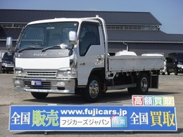 いすゞ エルフ 4.8 ワイド フルフラットロー ディーゼル ワイド平ボディ積載2t