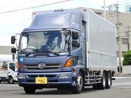 日野自動車 レンジャー 10.7t 増トンワイド アルミウイング P/G 内寸-長624x幅241x高233・低床2デフ