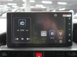 ディスプレイオーディオ♪オプションでオーディオ機能ナビ機能追加可能、スマホでの接続も可。