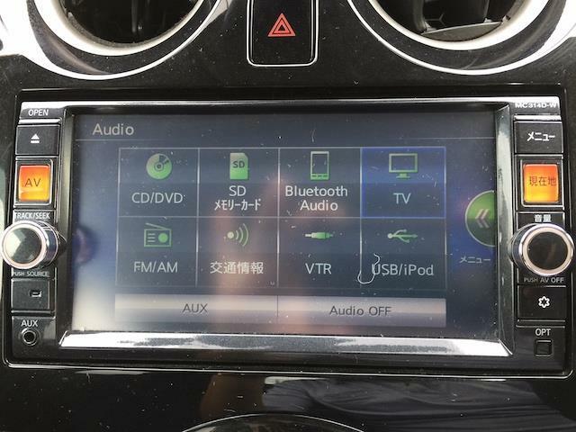 ◆純正ディーラーナビ【ワンセグTV付き、音楽プレイヤー接続可能。バラエティー性に富んだ装備なので道案内だでなくドライブを楽しくさせてくれます】
