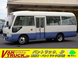 日野自動車 リエッセII ショート マイクロバス 26人乗り 自動ドア モケット 左電格ミラー