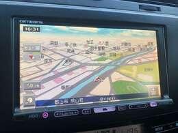 HDDナビが装備されてますので初めて訪れる場所でも迷わずに目的地に到着できますね♪長距離ドライブでCDも聞くことが出来るので、ドライブも一層楽しくなりますよ♪