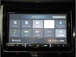 2DINナビ付き!フルセグ、CD,DVD再生、Bluetooth接続機能付きです!