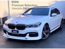 BMW 7シリーズ 740i Mスポーツ 認定保証1オ-ナ-SRハーマンカ-ドン純正20AW