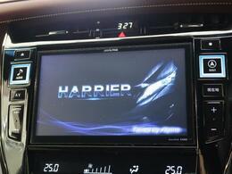 ●9型BIG-X この時代必需品のナビゲーションもちろん付いてます♪大きな画面で楽しいドライブになりますね♪