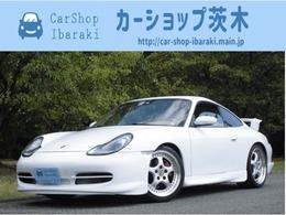 ポルシェ 911 カレラ 6速MT茶革GT3エアロ社外マフラ-BカメラHID