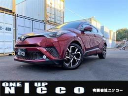 トヨタ C-HR ハイブリッド 1.8 G 純正オプションワイド9型ナビ 黒革シート