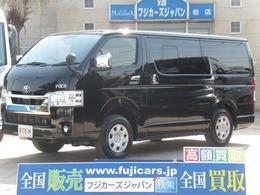 トヨタ ハイエースバン FOCS エスパシオES 新車未登録 6型 ディーゼル 4WD 寒冷地仕様