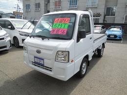 スバル サンバートラック 660 TB 三方開 4WD エアコン・パワステ・CD