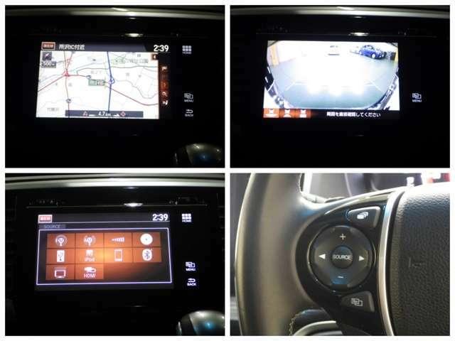 【ナビゲーション】 ナビを装備しております~!インパネ内にスッキリとビルトイン装着されておりますので、運転時に視界の妨げになる事もありませんよ♪