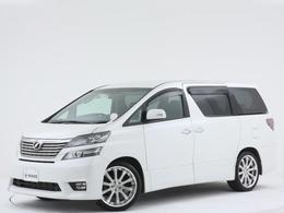 トヨタ ヴェルファイア 2.4 Z プラチナセレクション ガナドール/フリップダウン/電動バックドア